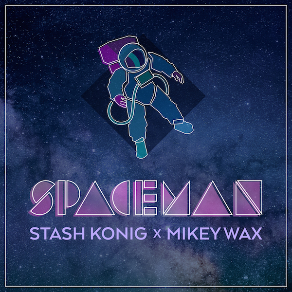 Stash Konig x Mikey Wax - Spaceman - Artwork - 600 x 600 - EKM.CO