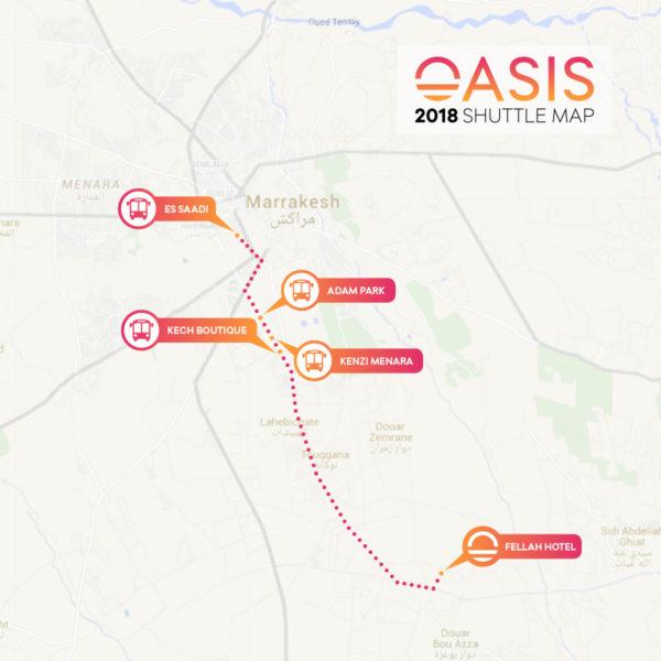 Oasis Festival Free Shuttle - EKM