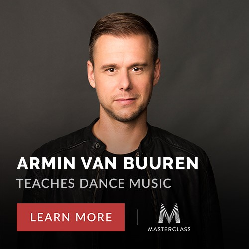 Learn music production with Armin Van Buuren