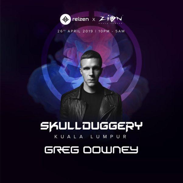 Greg Downey at SKULLDUGGERY in Kuala Lumpur 2019