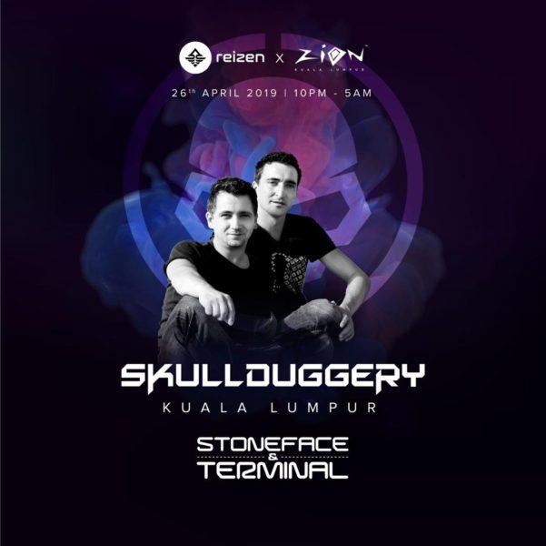 Stoneface & Terminal at SKULLDUGGERY in Kuala Lumpur 2019