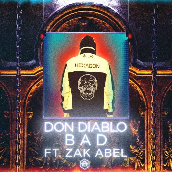 Don Diablo Unleashes His Latest Masterpiece 'Bad' With Zak Abel
