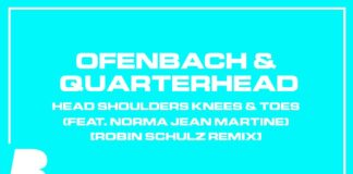 Robin Schulz remix, Ofenbach & Quarterhead, Head Shoulders Knees & Toes remix, new Spinnin' Records music