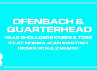 Robin Schulz remix, Ofenbach & Quarterhead, Head Shoulders Knees & Toes remix, new Spinnin' Records music