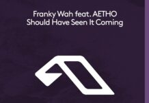 Franky Wah, Anjunadeep 2021, new Franky Wah music, AETHO