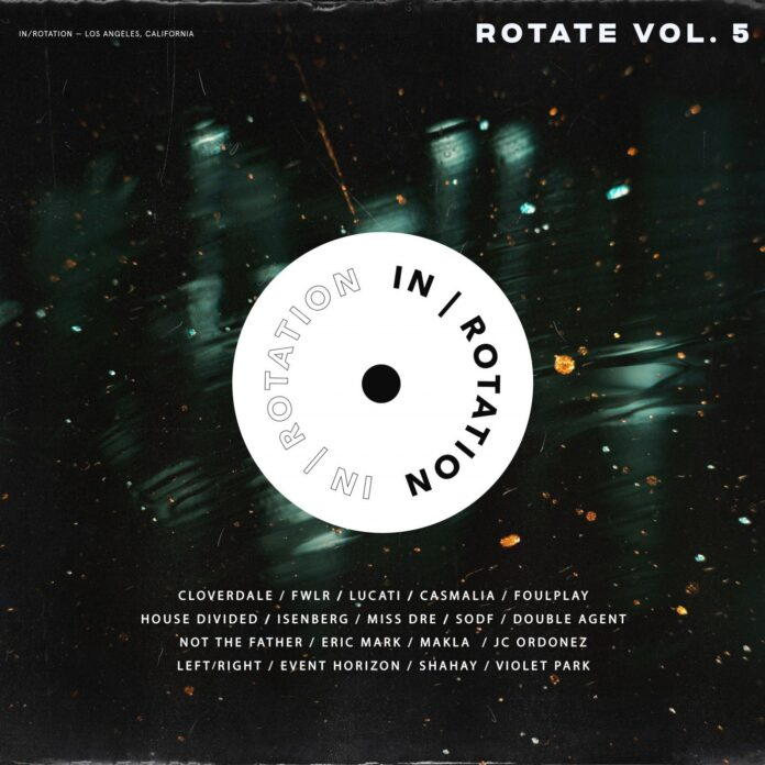 Rotate Vol. 5 - House music compilation 2021 - Insomniac House label -IN/ROTATION Records