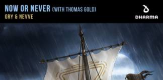 GRY & NEVVE - Now Or Never, KSHMR label DHARMA records, new GRY music, Pop EDM 2021