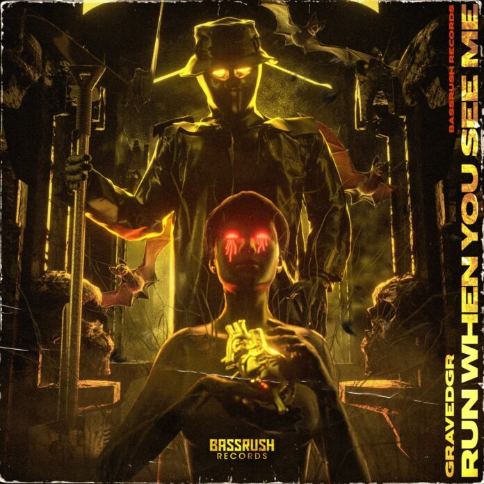 GRAVEDGR x Haaradak - DISTORTION, new Haaradak music, Run When You See Me EP, Hard Trap / Hard Dance
